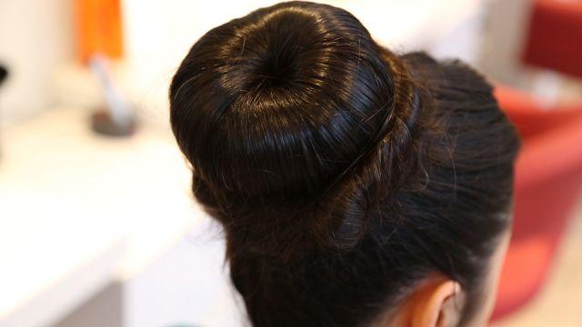 Davet Saçı Modelleri Davet Için Balerin Topuzu Nasıl Yapılır